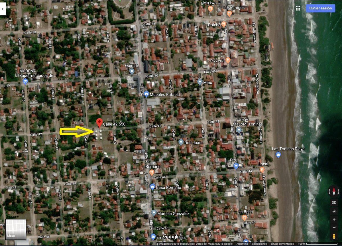 dueño vende duplex calle 42 p/ 5 personas c/ cochera