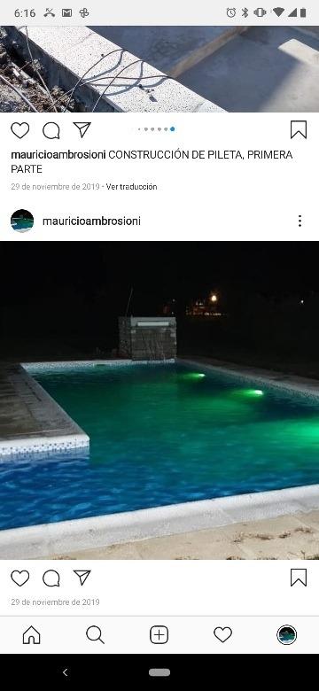 dueño vende exelente casaquinta .lote 730mts .piscina 9.5x4