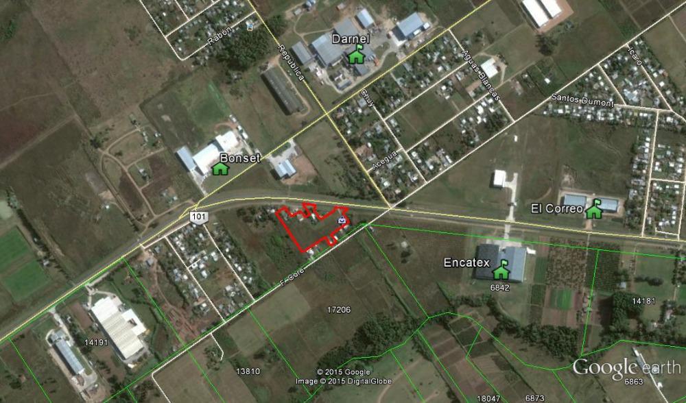 dueño vende terreno con doble salida a la ruta 101 km. 29