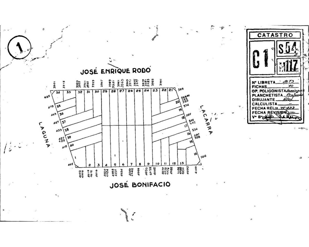 dueño vende - terreno en floresta - parque avellaneda