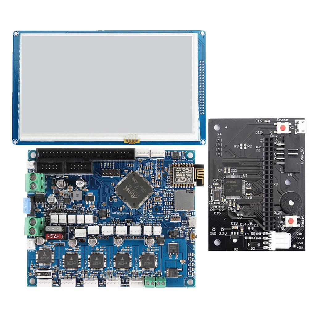Duet 2 Wifi V1 04 Upgrades Controller Board 32 Bit With 7 0\