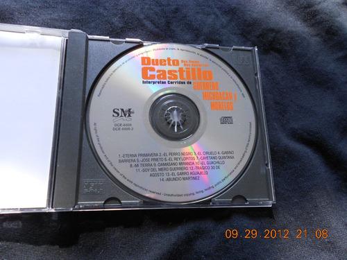 ¡dueto castillo! cd. seminuevo $|70.00.dos voces dos guitarr