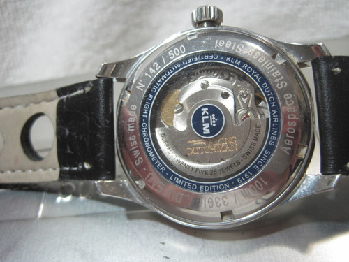 dufeau watch co,swiss made,automatico,para colecionadores