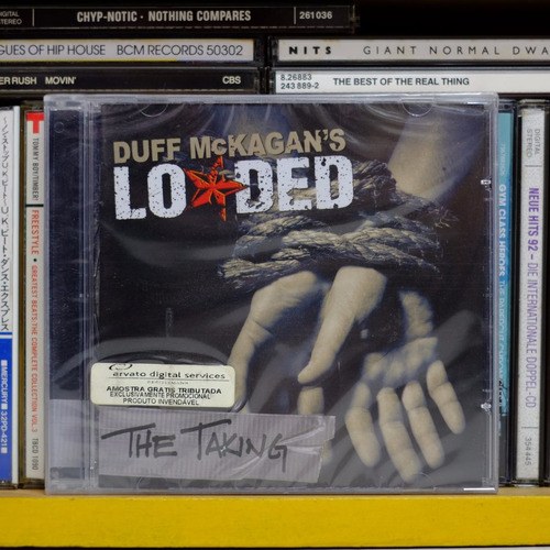 duff mackagan's loaded / the taking ( novo lacrado ) cd