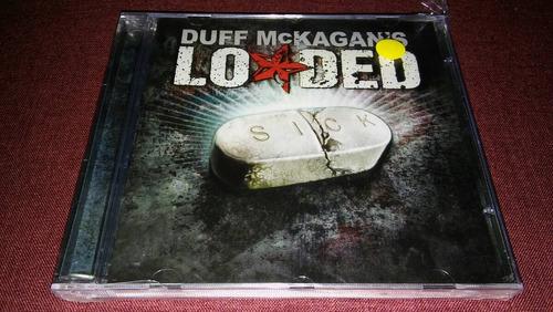 duff mckagan's loaded - sick (cd novo, lacrado)