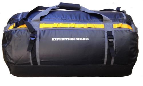 duffel o maleta vinil cilindro de lona resistente 95 litros