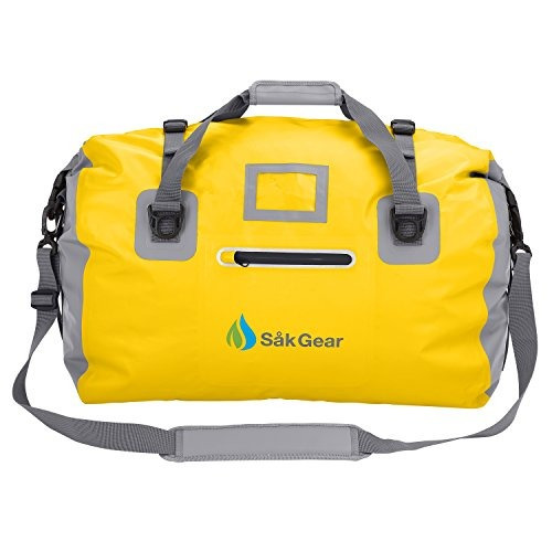 duffelsak waterproof duffel bag (amarillo 60l)