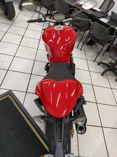 dukati monster 821 vermelha 2015 - target race