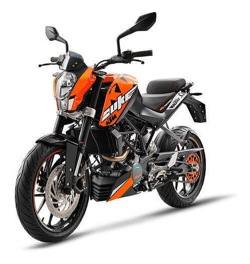 Ktm Duke 200 Naked Smmotos 2018 0km No Yamaha No Honda