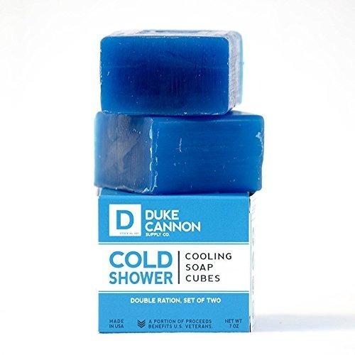 duke cannon - cubos de jabón refrigerante para ducha fría, 7