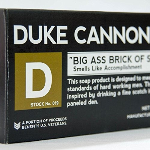 duke cannon tactical grooming supply: set de regalo de ducha