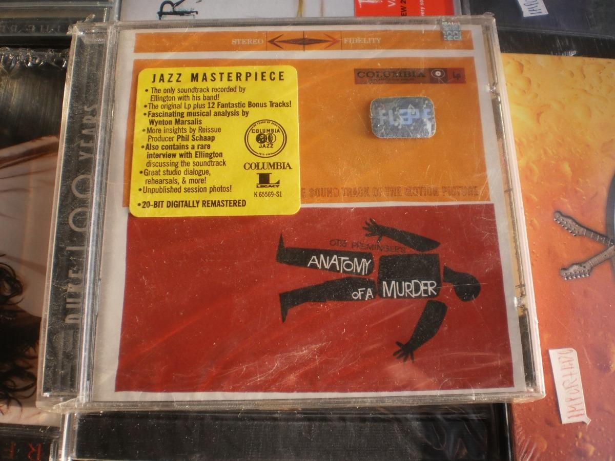 Duke Ellington Anatomy Of A Murder Cd Usa Nuevo Sellado 29900
