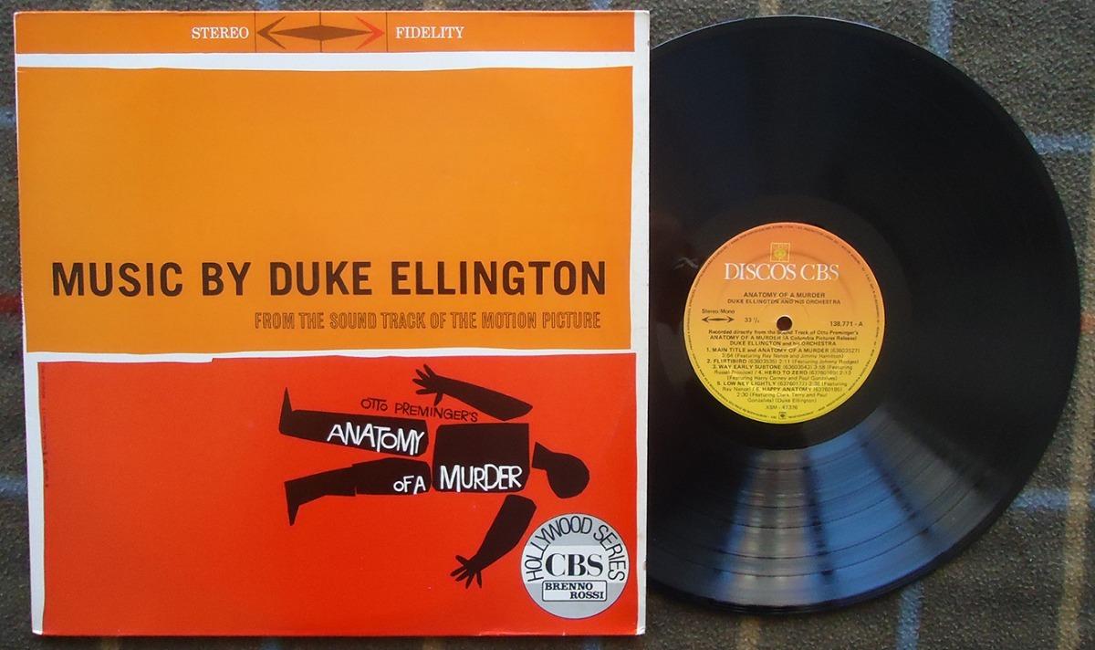 Duke Ellington Anatomy Of A Murder (sem Data) - Lp Nac. - R$ 60,00 ...