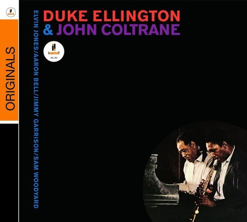 duke ellington & john coltrane cd nuevo importado en stock