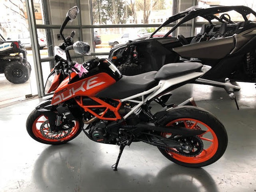 duke ktm 390 financiada - motoswift