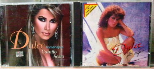 dulce 2 cd's completos ediciones originales oferta 2x1