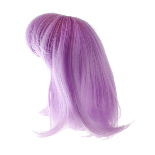 dulce completo muñeca peluca postizo cabello con explosión