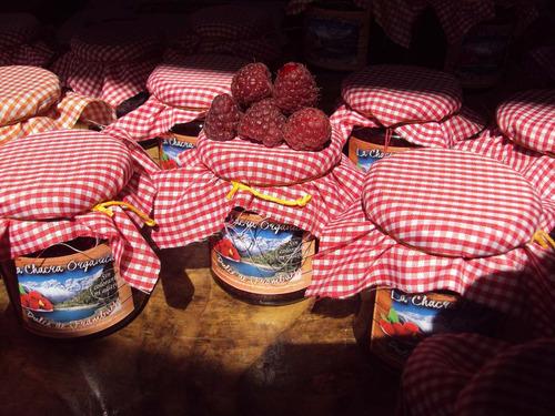 dulce de frambuesas sin colorantes ni aditivos sin tacc