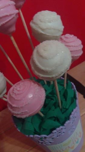 dulce día de la secretaria! cookies o cakepops