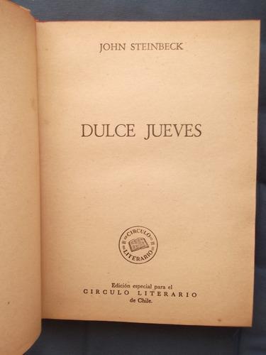 dulce jueves john steinbeck 1956 tapas duras