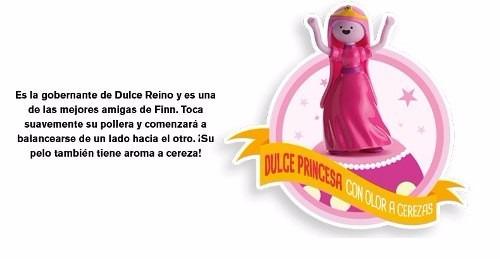 dulce princesa hora de aventura mc donalds cajita feliz 2015