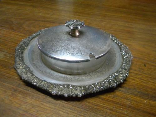 dulcera de metal  reproducion sheffield $ 399