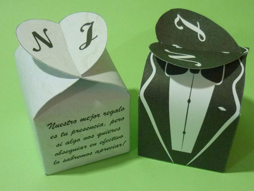 dulcero cajita boda xv años comunión personalizada vitange