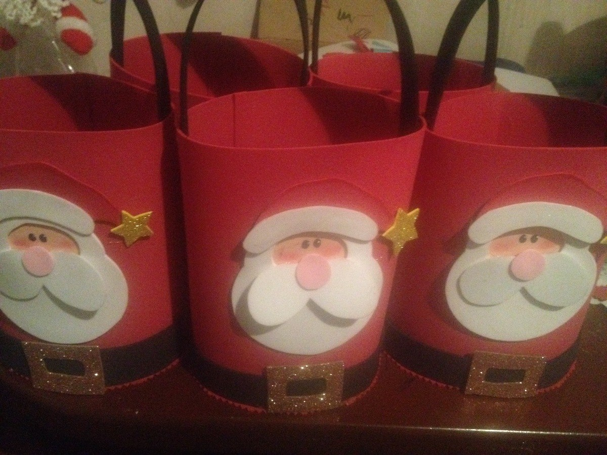 Dulcero cotillon en foami navidad para fiestas o regalar - Cosas para regalar en navidad ...