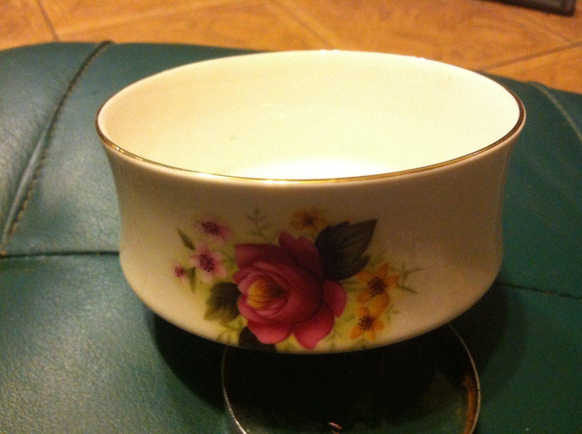 Dulcero de flores ingles de porcelana en for Porcelana en ingles