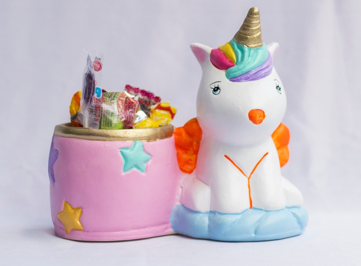 Imagenes De Unicornios Infantiles: Dulcero Fiesta Unicornio Unicornios Infantil Recuerdo Baby
