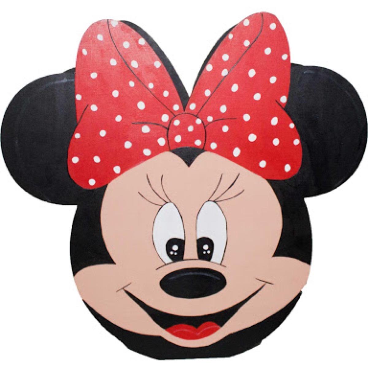 Dulcero O Centro De Mesa De Minnie Mouse Para Pintar - $ 20.00 en ...