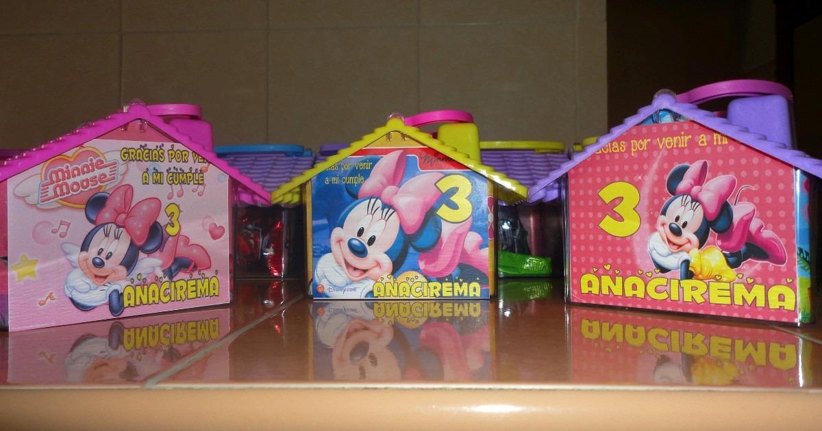 Dulceros Bolos Aguinaldos Minnie, Mimi, Mickey Bebe Disney ...