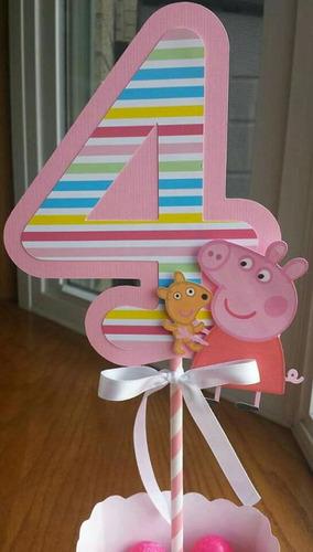 dulceros centros de mesa frozen peppa pig candy bar