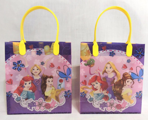 dulceros princesas fiestas bolsas recuerdos regalos pvc