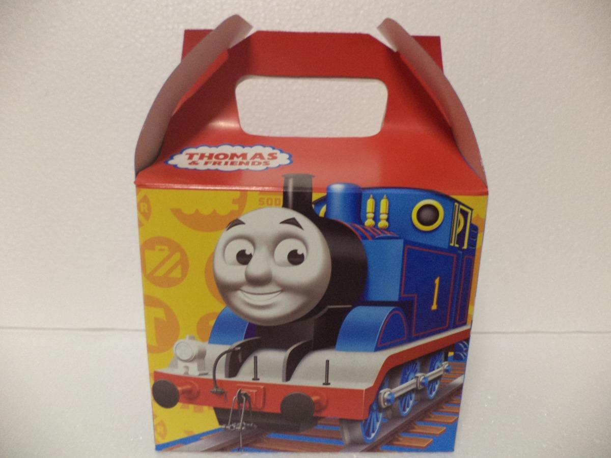 Dulceros fiestas thomas 10 cajas recuerdos carton tren for Cajas de carton infantiles