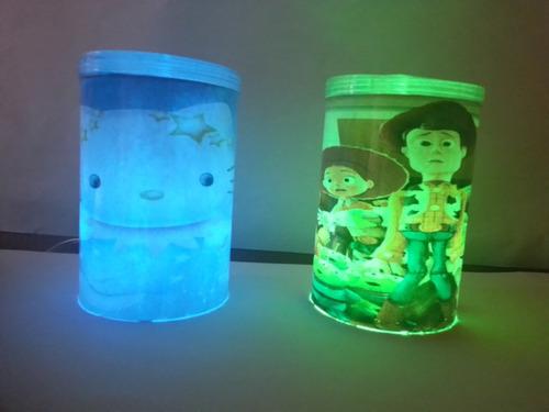 dulceros infantiles lámparas