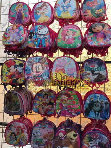 dulceros loncheras mochilas de moana niño y niña