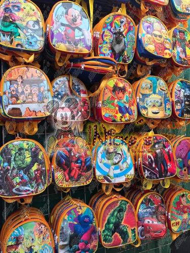 dulceros loncheras mochilas de personajes de moda fiestas