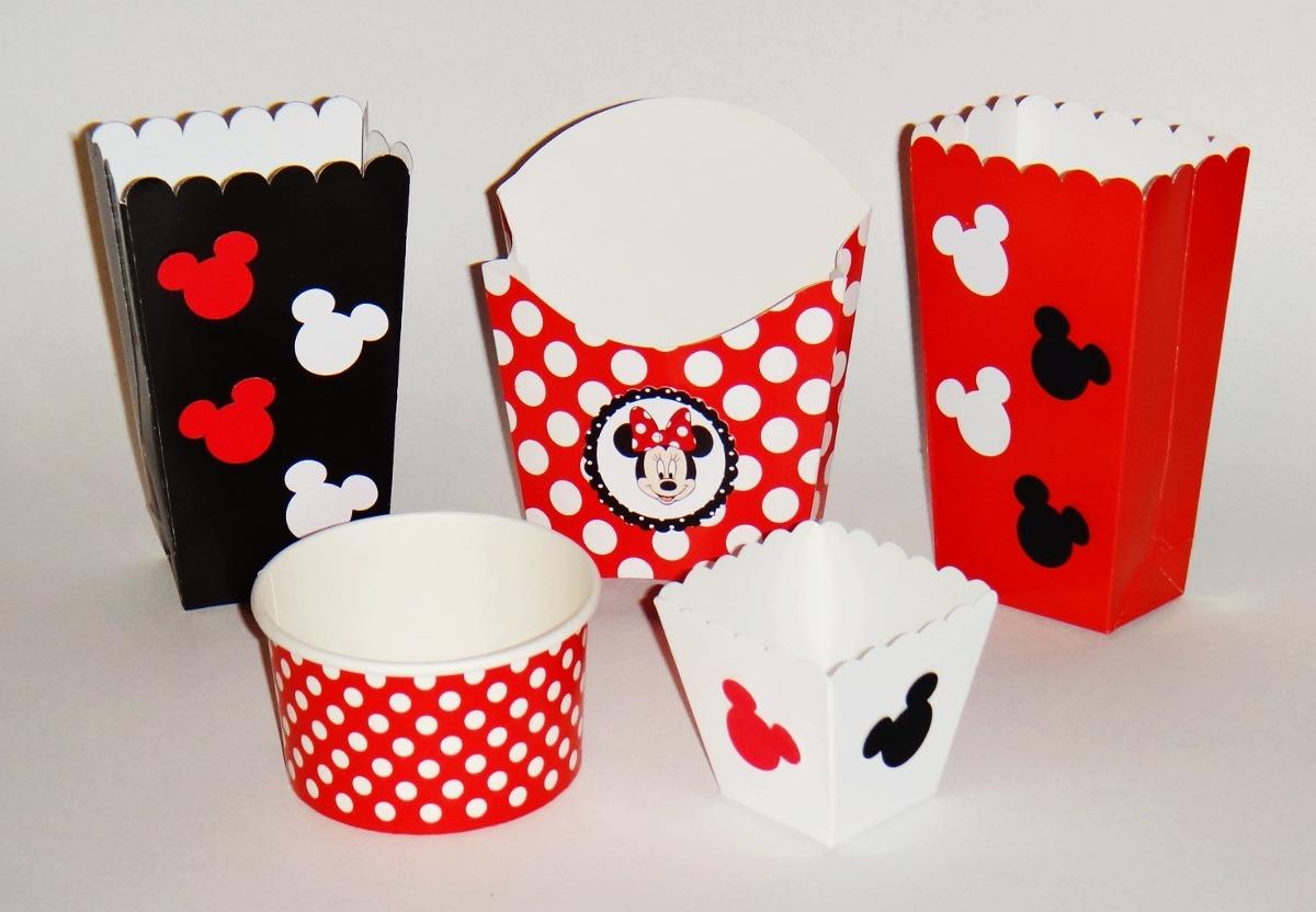 Dulceros Mickey Mouse Y Mimi Mesa De Dulces Fiesta Recuerdos ...