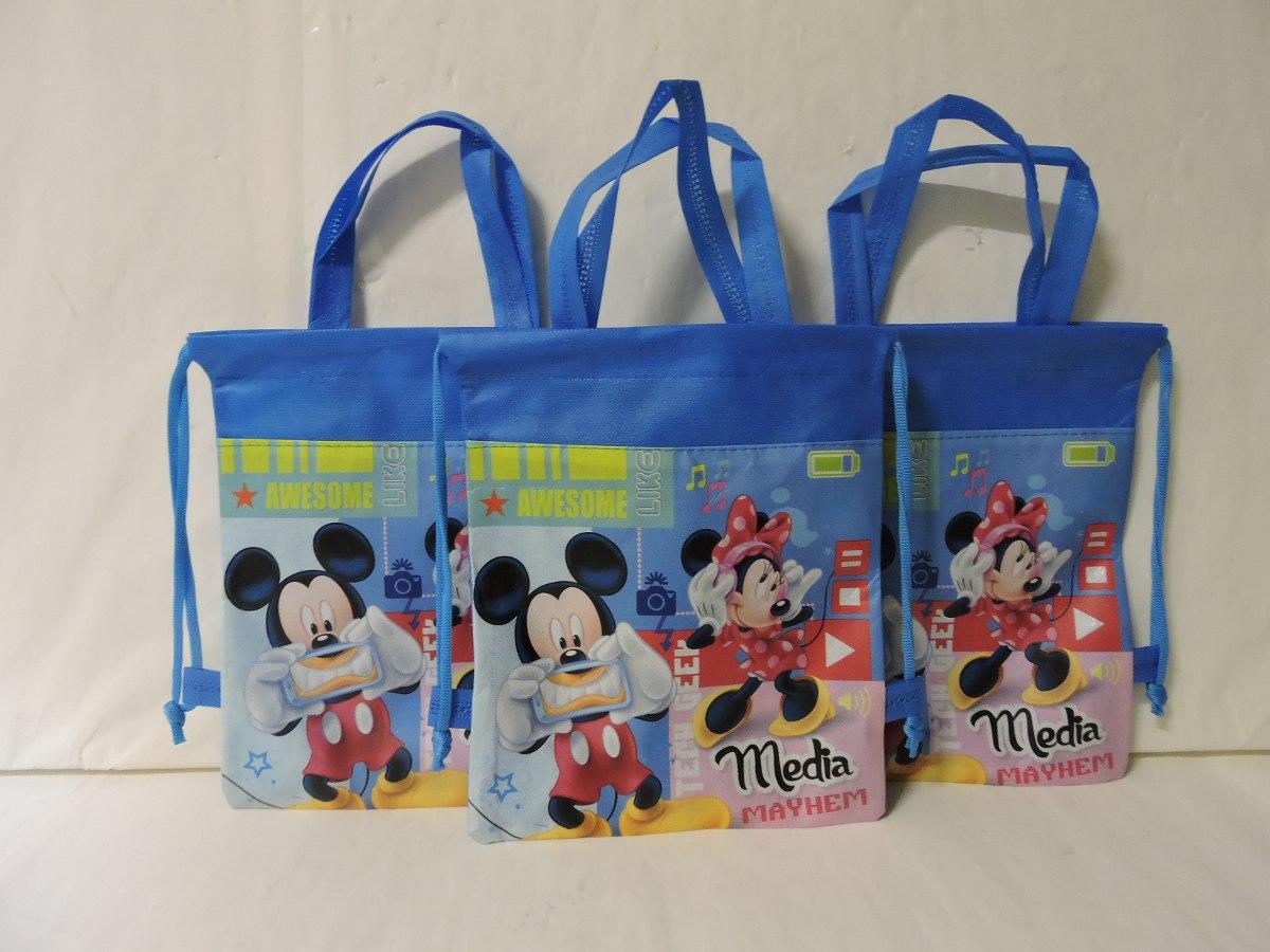 Dulceros minnie mickey mouse bolsas fiesta 10 regalos - Dibujos infantiles originales ...