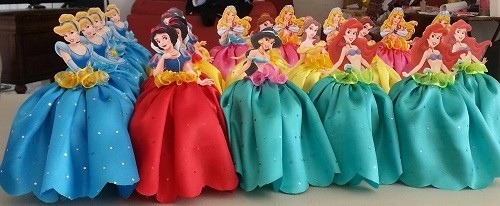 Dulceros princesas infantiles fiesta personajes ni as - Fiestas infantiles princesas disney ...
