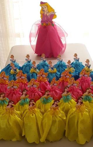 dulceros princesas infantiles fiesta personajes niñas niños