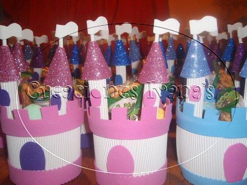 dulceros sorpresas cumpleaños castillos princesas