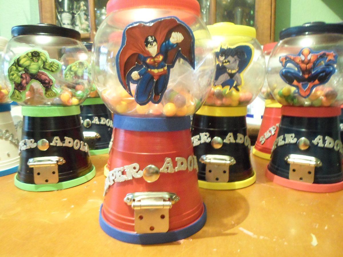 Dulceros y centros de mesa para fiestas infantiles 4 pzas for Mesas infantiles precios