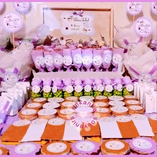 dulces fiesta mesa