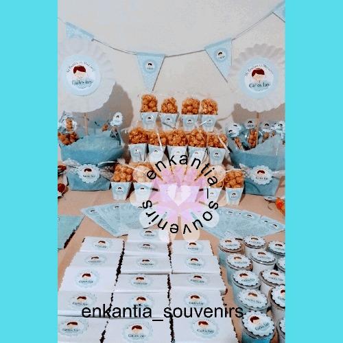 dulces fiestas mesa