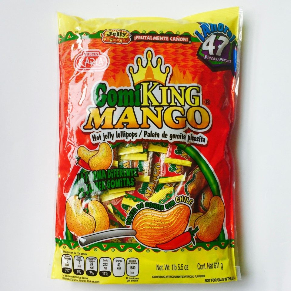583ad12d3a01 Dulces Mexicanos Paletas Gomi King Mango 47 Unidades