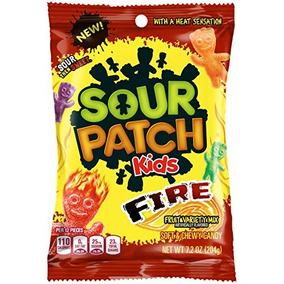Dulces Sin Grasa Surtidos Sour Patch Kids Fire, 7 2 Oz
