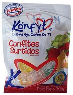 dulces surtidos x 30 gramos konfyt