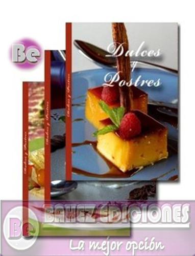 dulces y postres 3 vol cultural